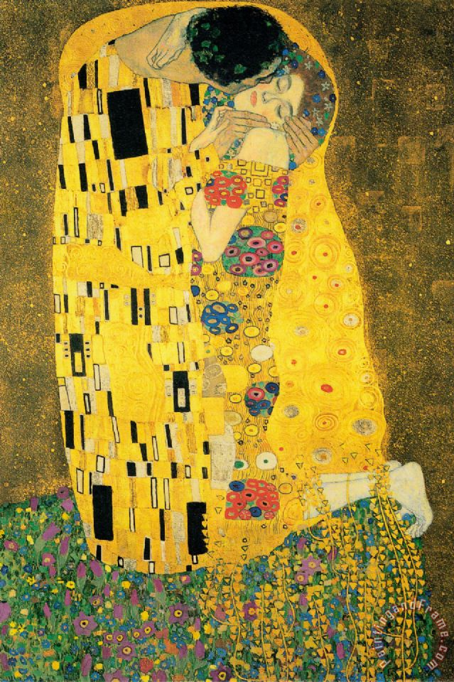 The Kiss Ii painting - Gustav Klimt The Kiss Ii Art Print