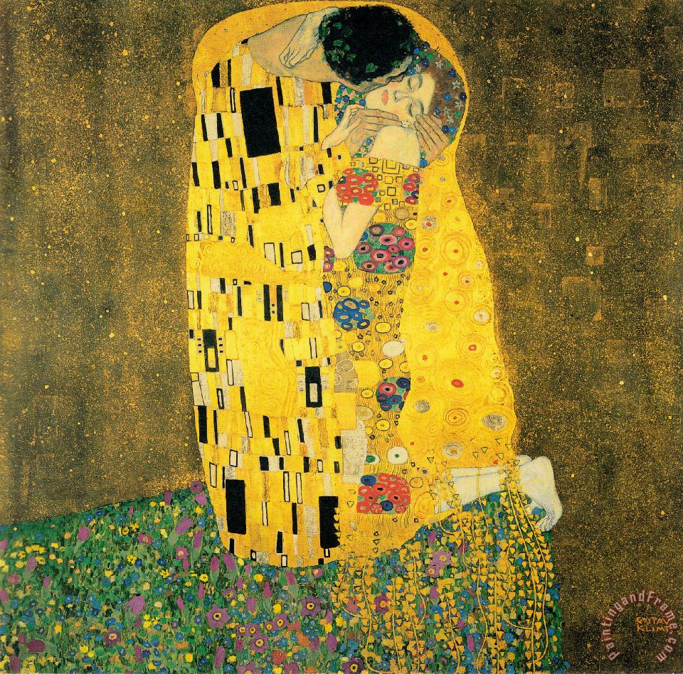 The Kiss Iv painting - Gustav Klimt The Kiss Iv Art Print