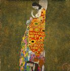 Hope Ii Lady by Gustav Klimt