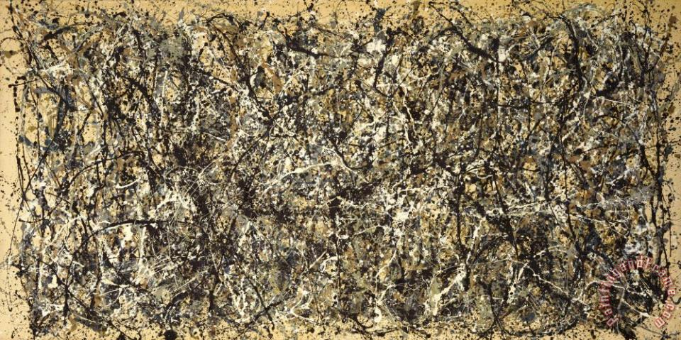 One No 31 painting - Jackson Pollock One No 31 Art Print