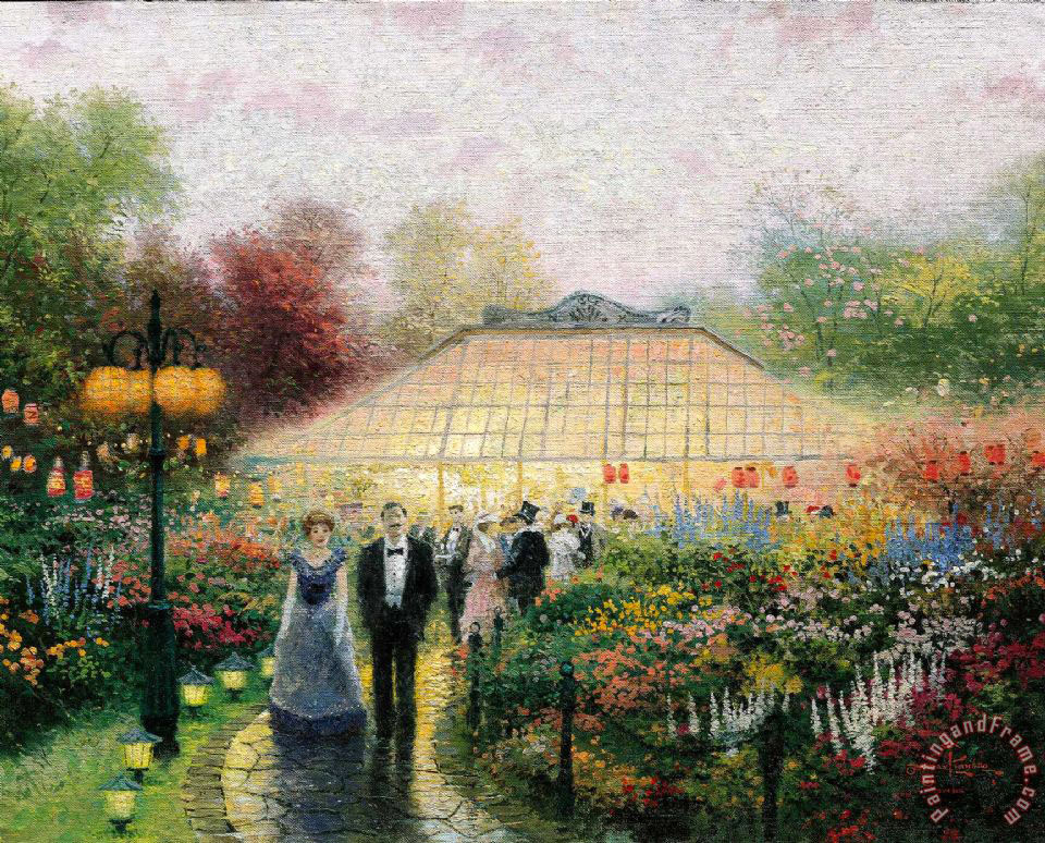 Thomas Kinkade The Garden Party