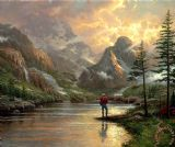 Almost Heaven by Thomas Kinkade