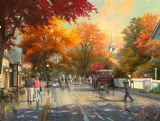 Autumn on Mackinac Island by Thomas Kinkade