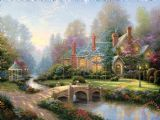 Beyond Spring Gate by Thomas Kinkade