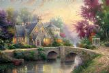 Lamplight Manor by Thomas Kinkade