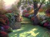 Pathway to Paradise by Thomas Kinkade