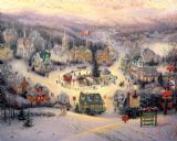 St. Nicholas Circle by Thomas Kinkade