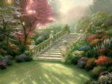 Stairway to Paradise by Thomas Kinkade