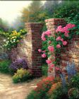 The Rose Garden by Thomas Kinkade