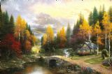 The Valley of Peace by Thomas Kinkade
