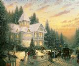 Victorian Christmas by Thomas Kinkade