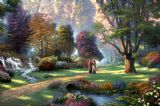 Walk of Faith by Thomas Kinkade