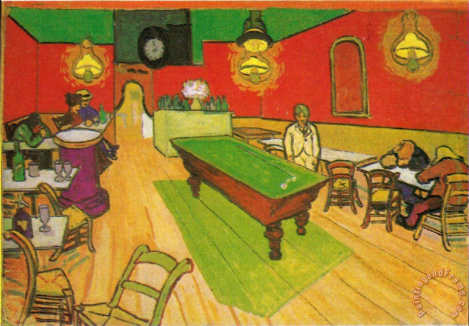 Vincent Van Gogh Night Cafe Van Gogh The Night Cafe in
