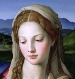 Mary by Agnolo Bronzino