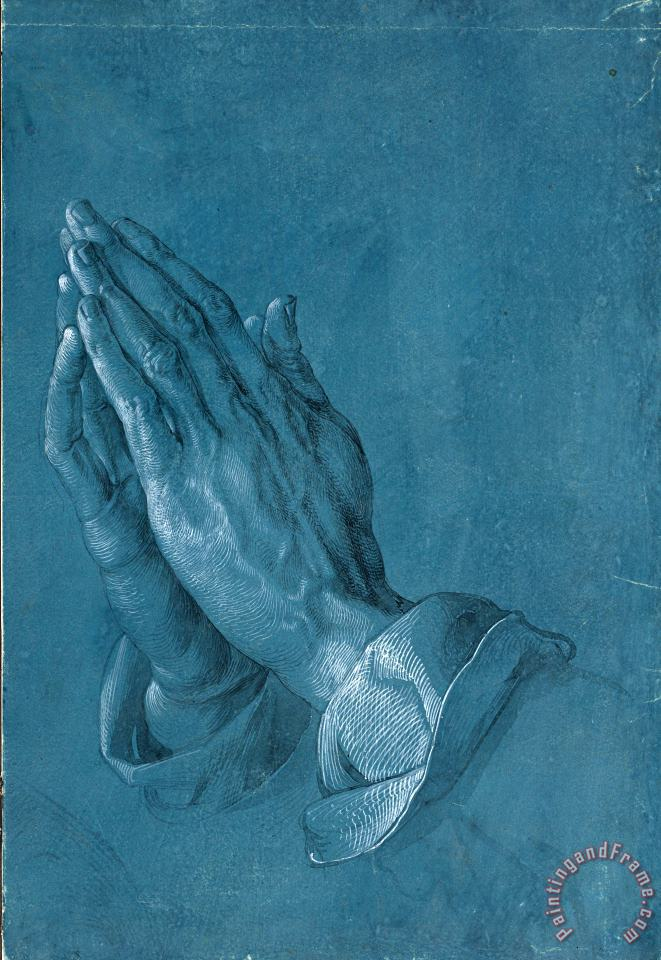 Albrecht Durer Praying Hands, 1508 Art Print