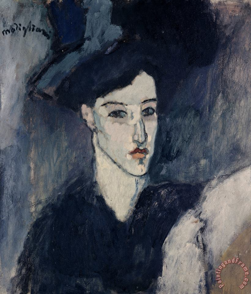 Amedeo Modigliani The Jewess Art Painting