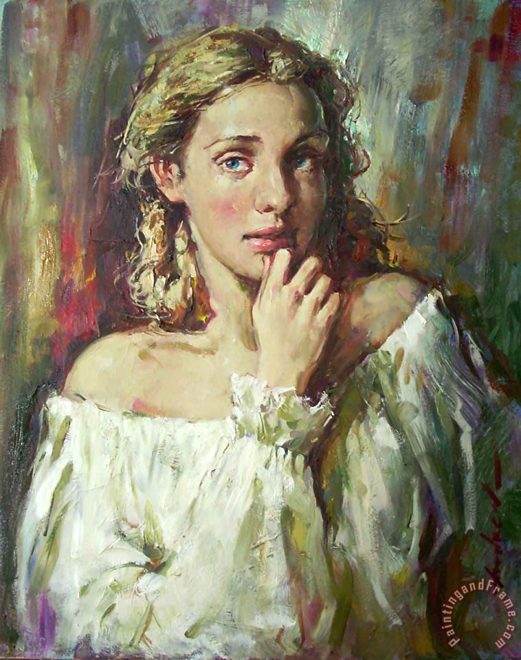 Andrew Atroshenko Pure Beauty Art Painting