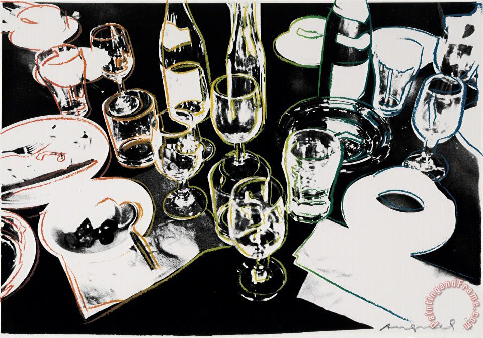 After The Party 1979 painting - Andy Warhol After The Party 1979 Art Print