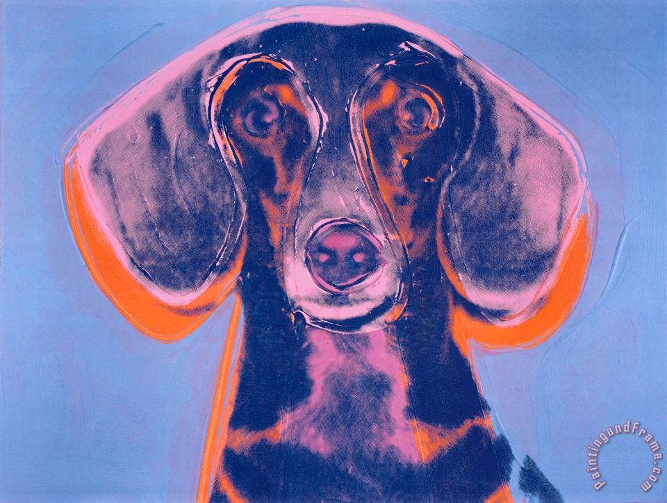Andy Warhol Portrait of Maurice Art Print