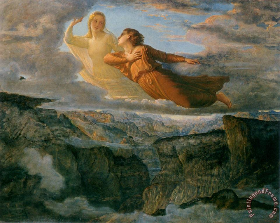 Anne Francois Louis Janmot The Poem of The Soul The Ideal Art Painting