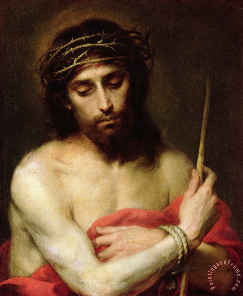 Christ The Man Of Sorrows painting - Bartolome Esteban Murillo Christ The Man Of Sorrows Art Print