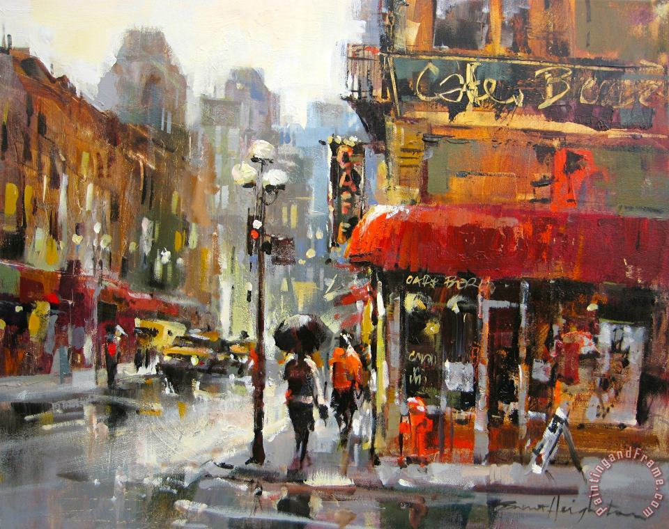 Gold Medal Peoples Choice painting - brent heighton Gold Medal Peoples Choice Art Print