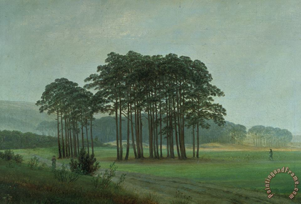 Caspar David Friedrich Midday Art Print