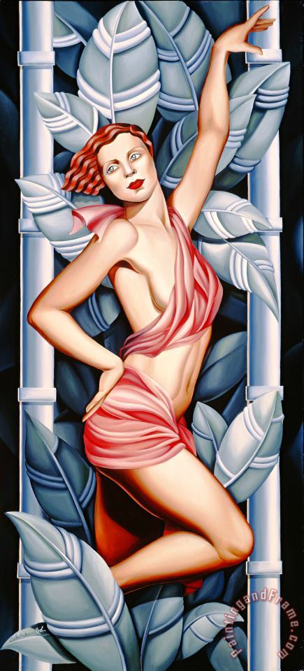 Catherine Abel In the Forest Art Painting