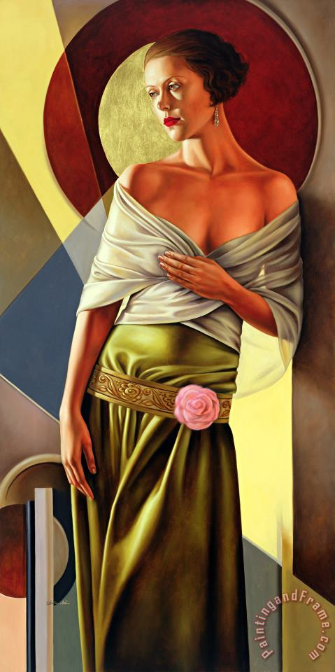 Catherine Abel Reflections of Grace Art Painting