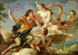 Venus and Adonis by Charles Joseph Natoire