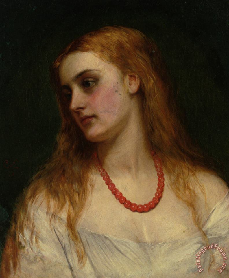 Charles Sillem Lidderdale Ophelia Art Painting