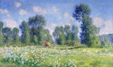 Effect of Spring at Giverny by Claude Monet