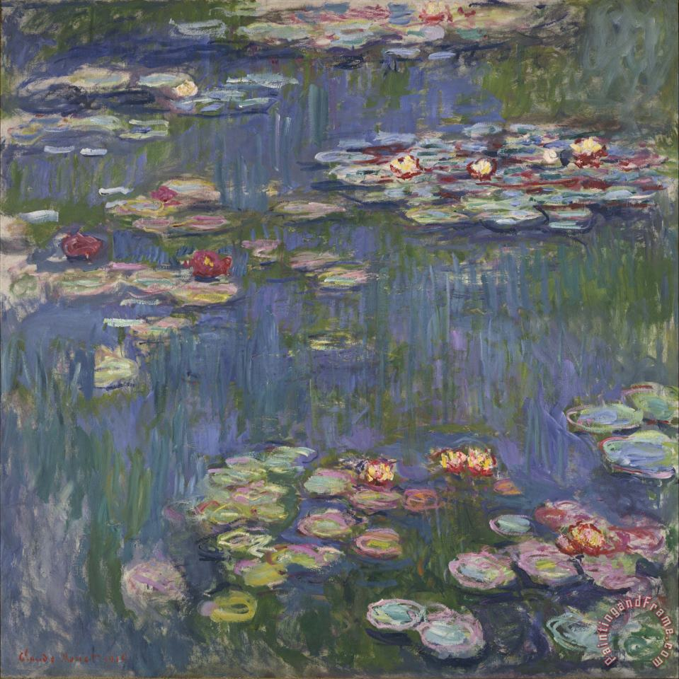 Claude Monet Water Lilies Art Print