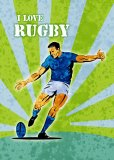 Rugby Player Kicking The Ball by Collection 10