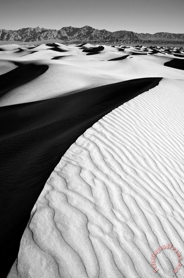 Collection 6 Death Valley Sand Dunes Art Print