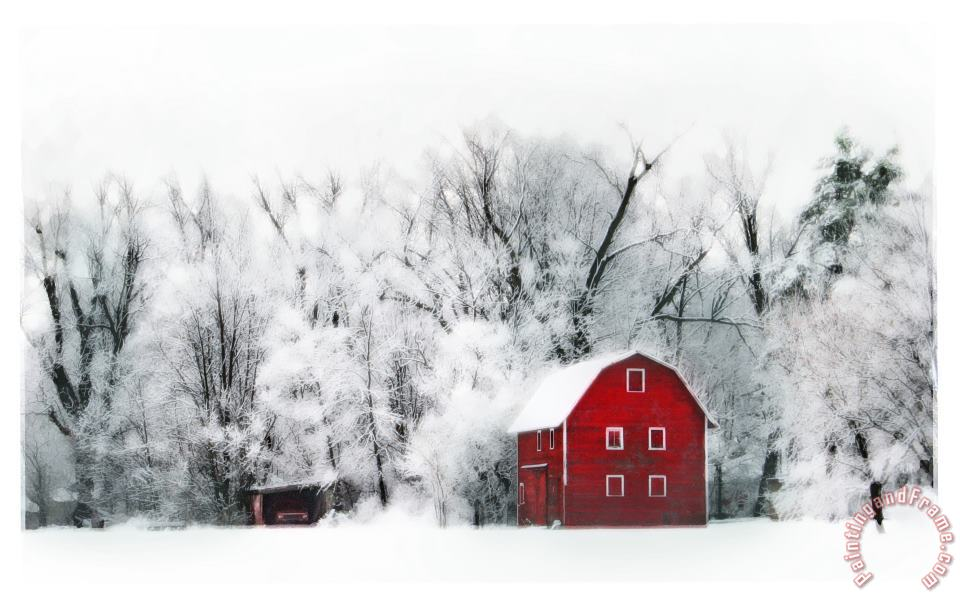 Collection 8 Country winters Art Print