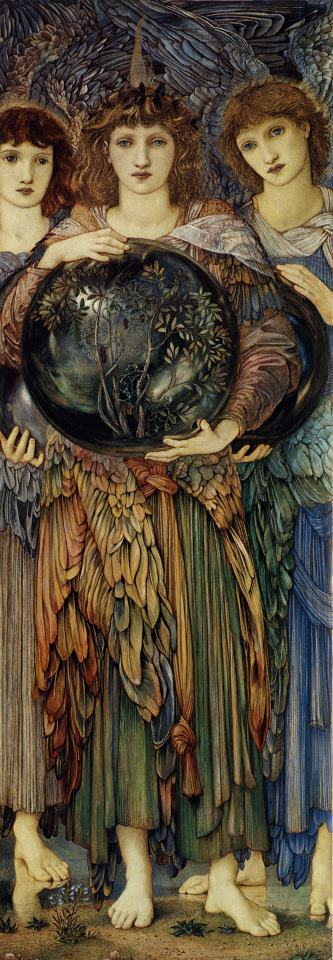 Edward Burne Jones The Days of Creation The Third Day Art Print