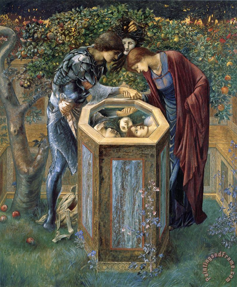 The Perseus Series The Baleful Head painting - Edward Burne Jones The Perseus Series The Baleful Head Art Print