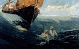 The Mermaid's Rock by Edward Matthew Hale