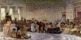 An Egyptian Feast by Edwin Longsden Long