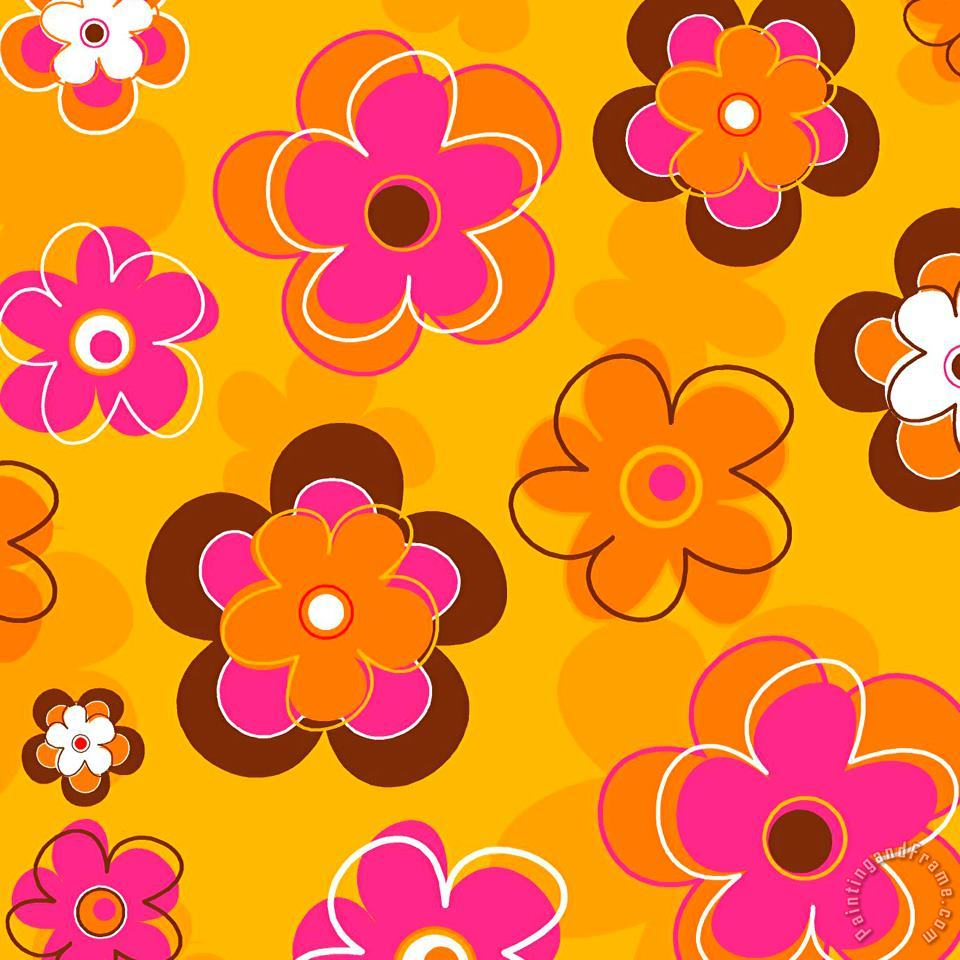 Esteban Studio Flower Pattern 2 Art Painting