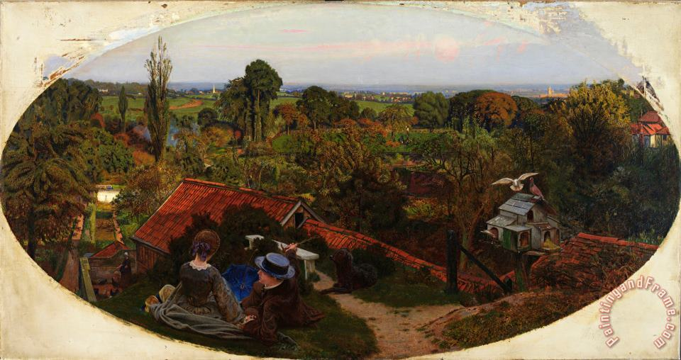 Ford Madox Brown An English Autumn Afternoon, 1852 1853 Art Print