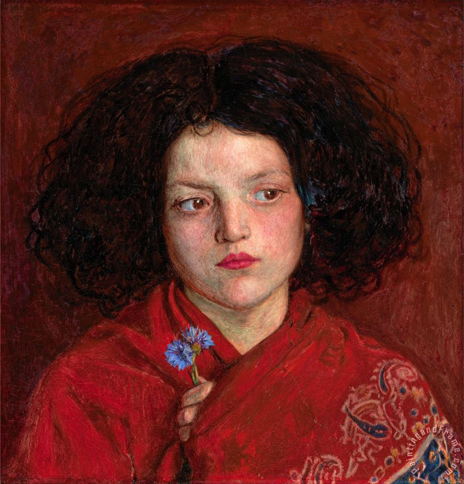 Ford Madox Brown The Irish Girl Art Print