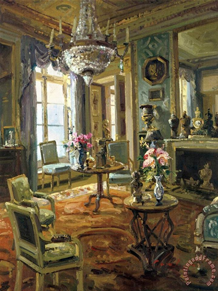The Drawing Room painting - Foxwell The Drawing Room Art Print