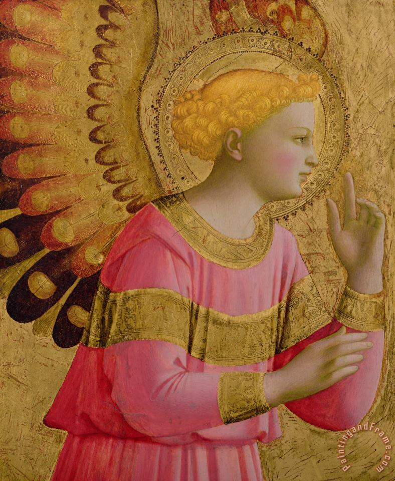 Fra Angelico Annunciatory Angel Art Print