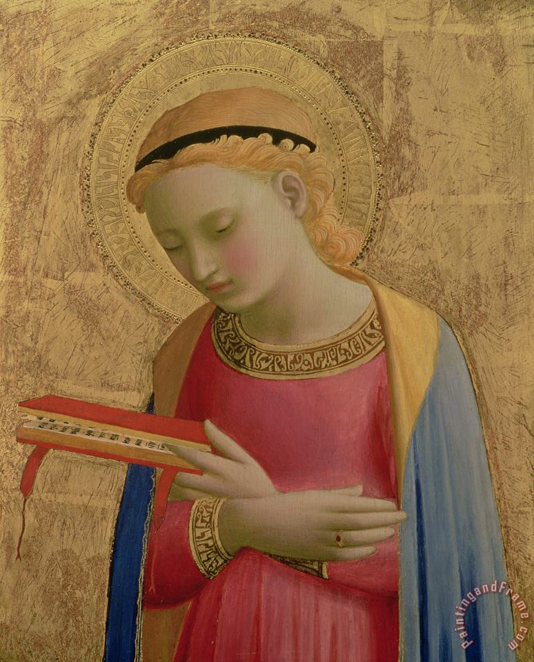 Fra Angelico Virgin Annunciate Art Print