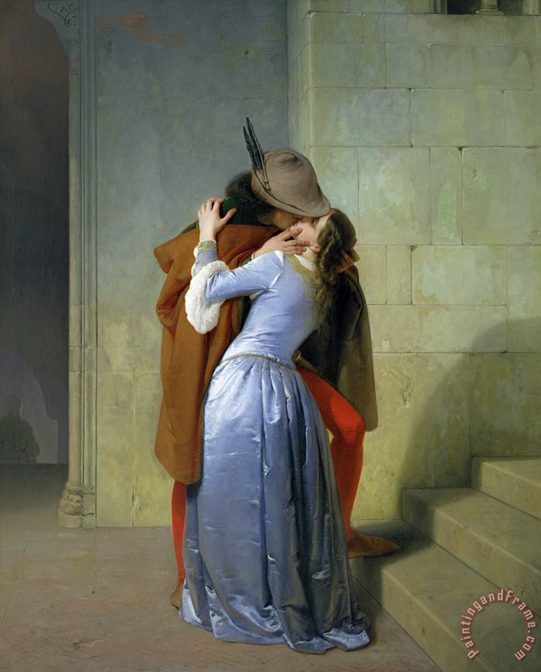 Francesco Hayez The Kiss Art Print
