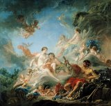 The Forge of Vulcan by Francois Boucher