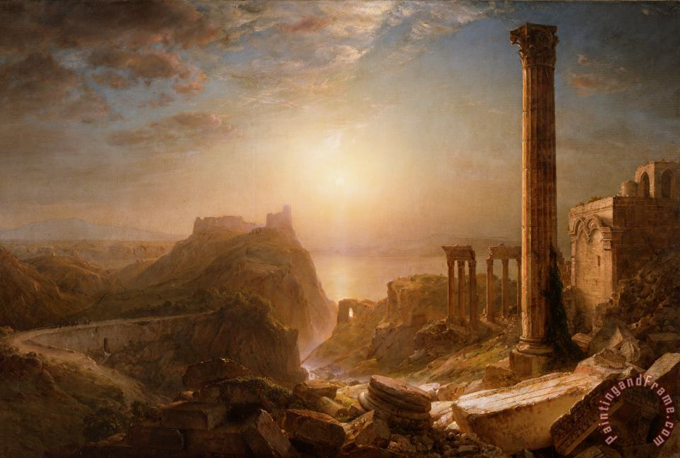Syria by the Sea painting - Frederic Edwin Church Syria by the Sea Art Print
