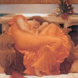 Flaming June - 1895 by Frederic Leighton